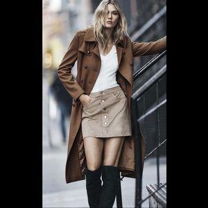 👢EXPRESS Gorgeous Suede Mini Skirt!👢